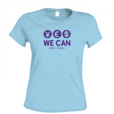TShirt Yes we can